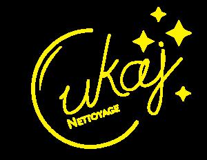 Logo Cukaj Nettoyage Jaune Transparent